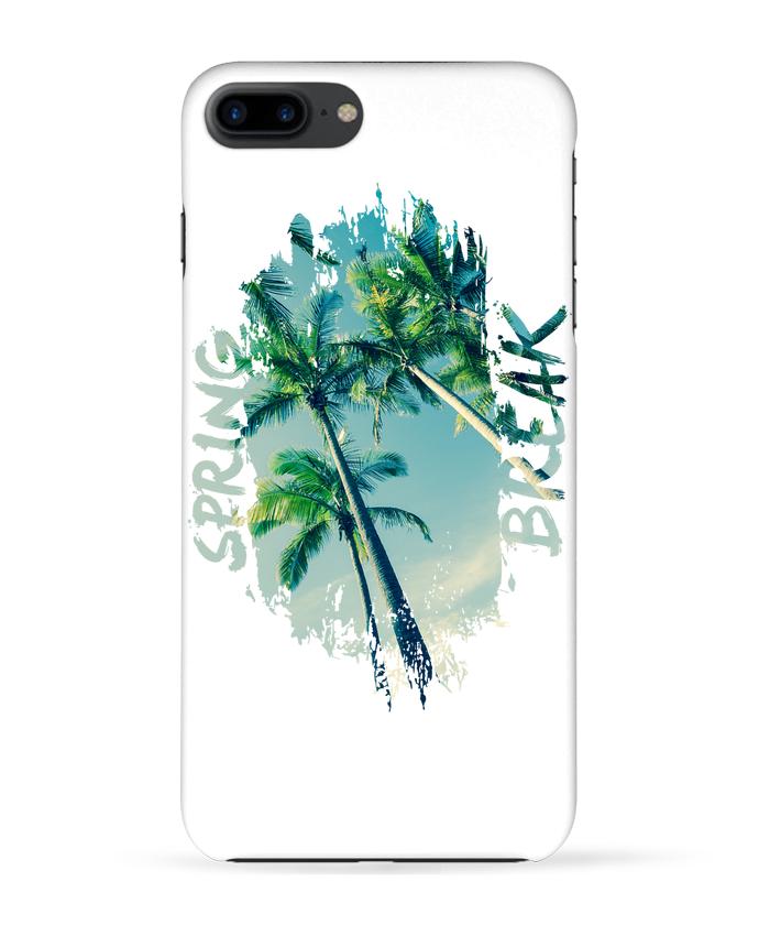 Coque 3D Iphone 7+ Spring Break par Esteban