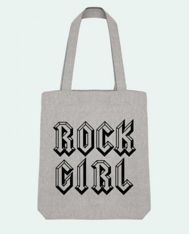 Tote Bag Stanley Stella Rock Girl par Freeyourshirt.com