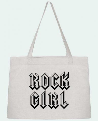 Sac Cabas Shopping Stanley Stella Rock Girl par Freeyourshirt.com