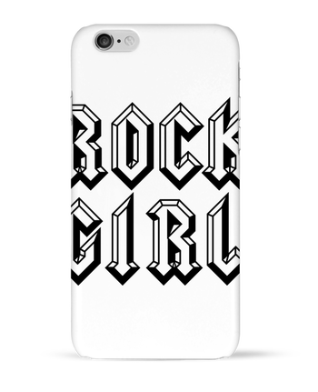 Coque 3D Iphone 6 Rock Girl par Freeyourshirt.com