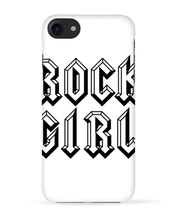 Coque 3D Iphone 7 Rock Girl de Freeyourshirt.com