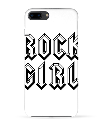 Coque 3D Iphone 7+ Rock Girl par Freeyourshirt.com