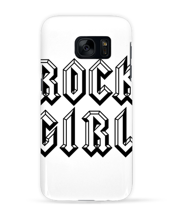 Coque 3D Samsung Galaxy S7 Rock Girl par Freeyourshirt.com