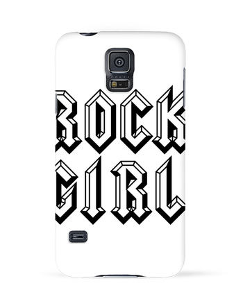 Coque 3D Samsung Galaxy S5 Rock Girl par Freeyourshirt.com
