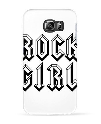 Coque 3D Samsung Galaxy S6 Rock Girl - Freeyourshirt.com