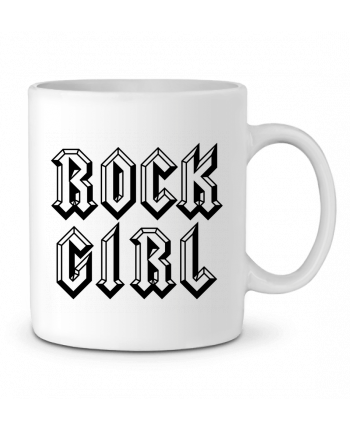 Mug en Céramique Rock Girl par Freeyourshirt.com