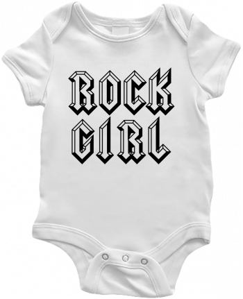 Body Bébé Rock Girl par Freeyourshirt.com