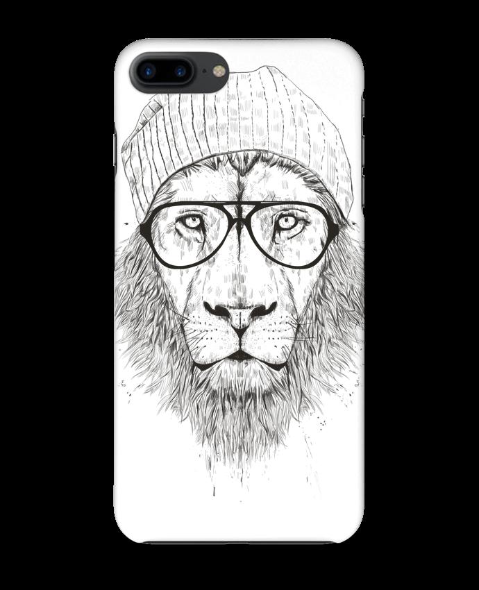coque 3d iphone 7  cool lion  bw  bal u00e0zs solti