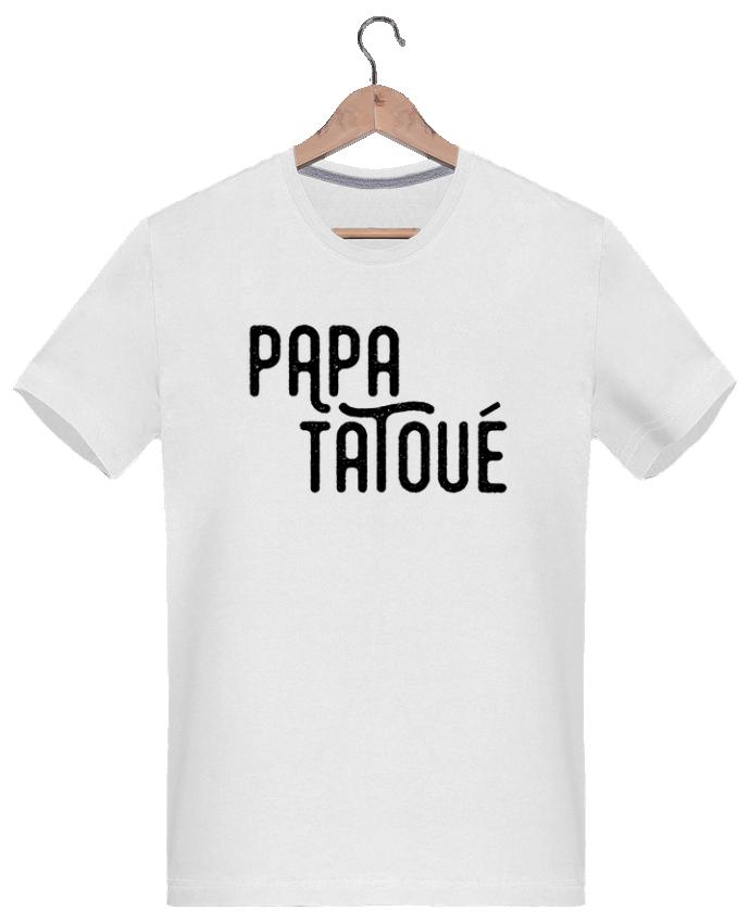 T-shirt  Homme 180g Papa Tatoué par tunetoo