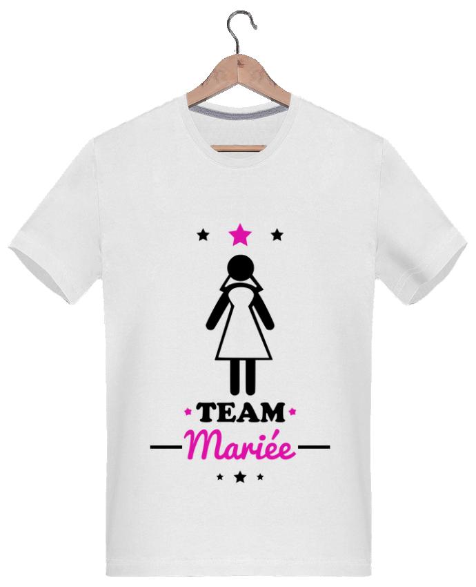 Très T-shirt Col V Femme Team mariée : enterrement de vie de jeune  LN02