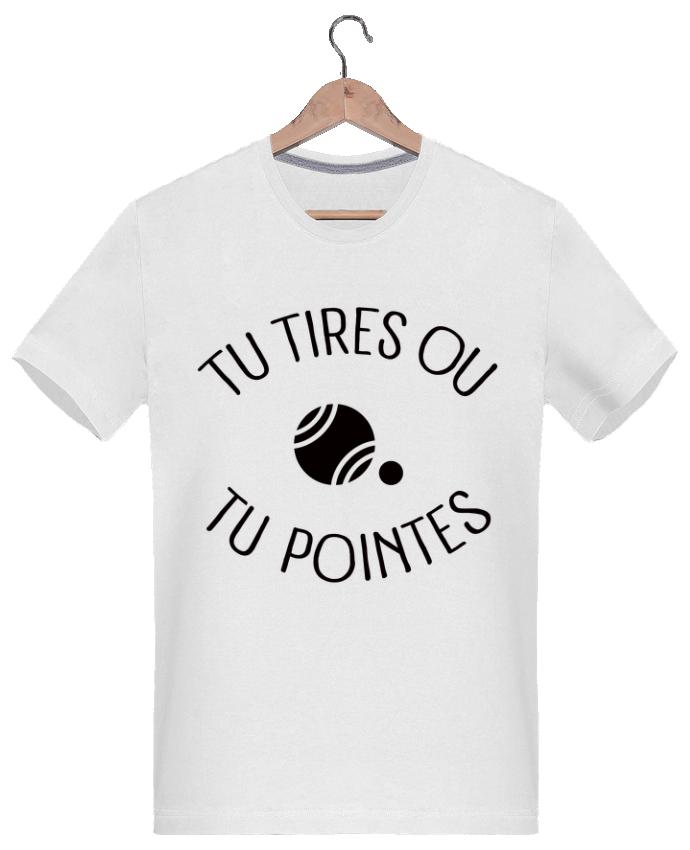 T-shirt  Homme 180g Tu Tires Ou Tu Pointes par Freeyourshirt.com