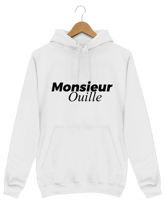 Sweat Shirt à Capuche Homme Monsieur Ouille par tunetoo