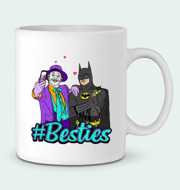 Mug en Céramique #Besties Batman par Nick cocozza