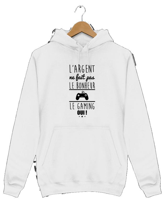 size 40 ffd3f fa33c 2458448-hoodie-homme-blanc -l-argent-ne-fait-pas-le-bonheur-le-gaming-oui-by-benichan.png