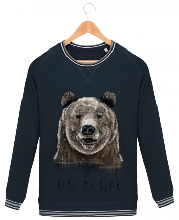 Sweat Col Rond Homme Stanley Strolls Tipped Ring my bear par Balàzs Solti
