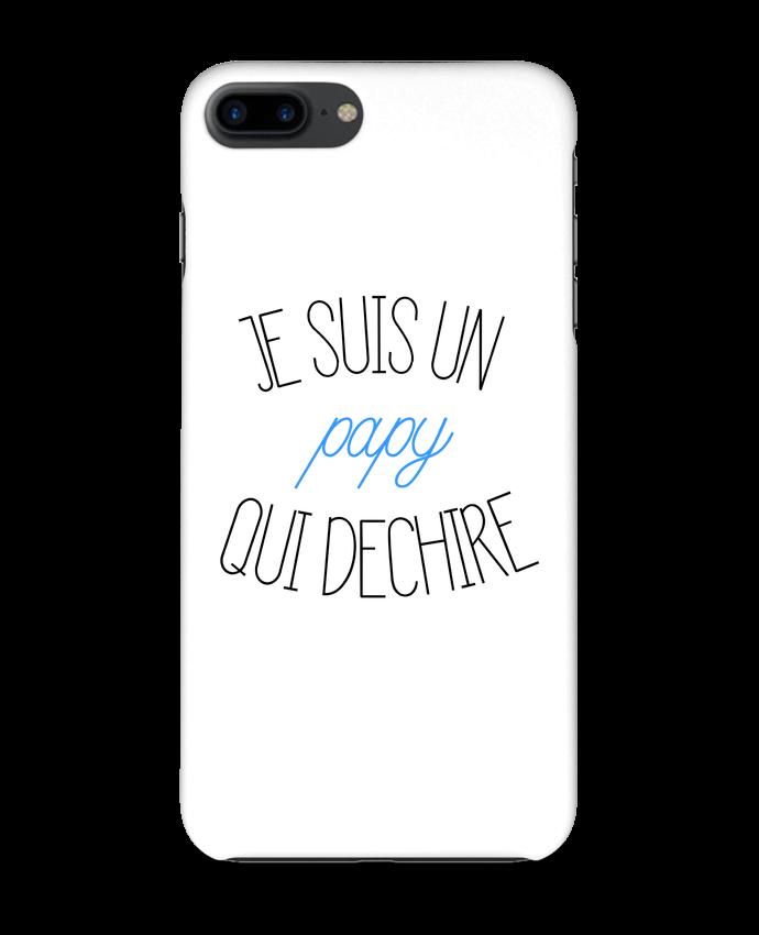 coque 3d iphone 7  je suis un papy qui d u00e9chire tunetoo