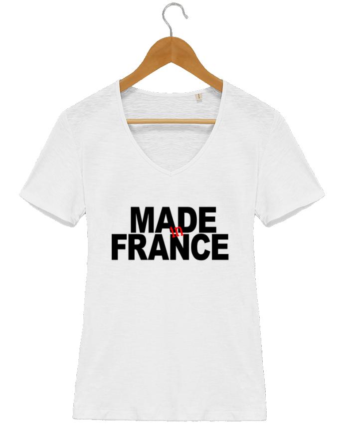t shirt femme col v stella chooses made in france datant. Black Bedroom Furniture Sets. Home Design Ideas