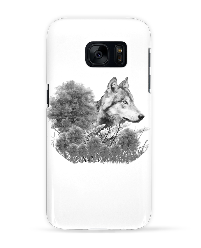 coque samsung s7 loup