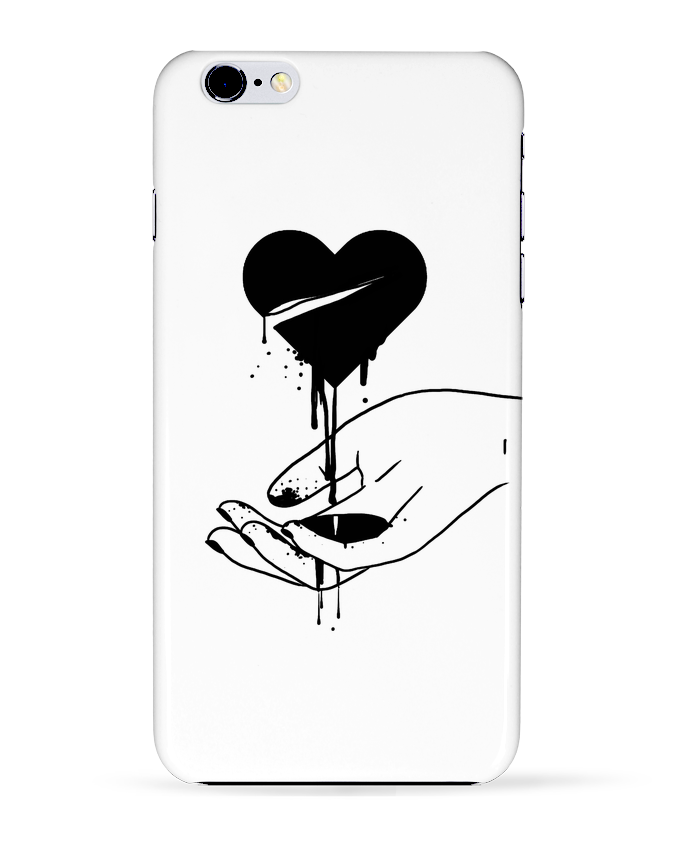 coque 3d iphone 6 coeur qui coule tattooanshort tunetoo. Black Bedroom Furniture Sets. Home Design Ideas