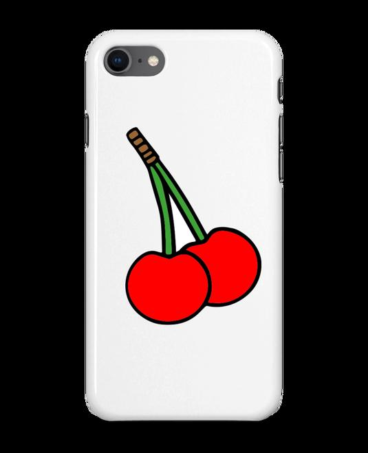 coque iphone 8 cerise