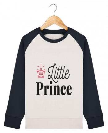 Sweat Shirt Col Rond Enfant Stanley Mini Contrast Little pince par arsen