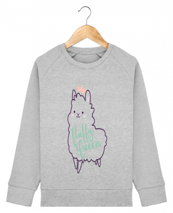 Sweat Col Rond Enfant Stanley Mini Scouts Fluffy Queen par Nana