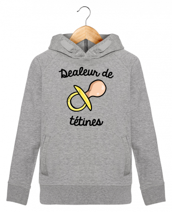 Sweat à Capuche Enfant Stanley Mini Base Dealeur de tétines par FRENCHUP-MAYO