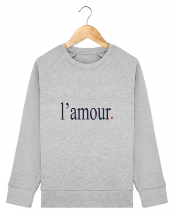 Sweat Col Rond Enfant Stanley Mini Scouts l\'amour by Ruuud par Ruuud