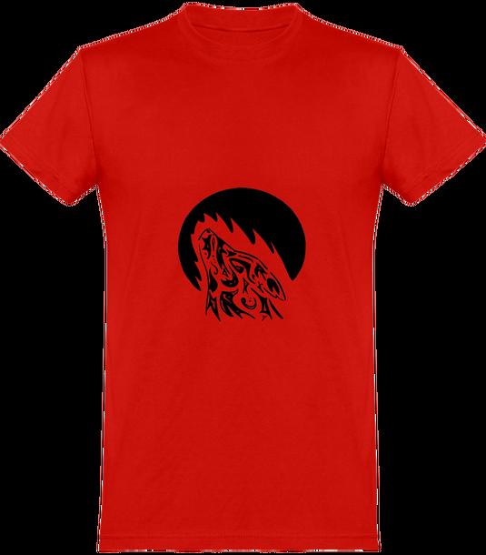 de Wolf Redondo Camiseta Tribal Hombre Cuello fy7Ygb6