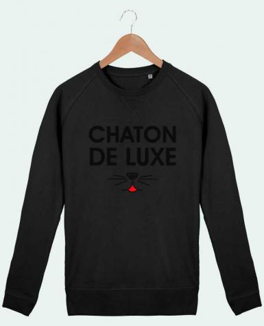 Sweat Col Rond Homme Stanley Strolls Chaton de luxe par tunetoo