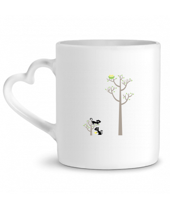 Mug Coeur Growing a plant for Lunch par flyingmouse365