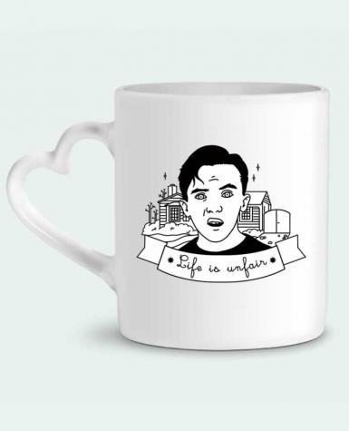Mug Coeur Malcolm in the middle par tattooanshort