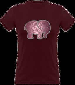 43af02ab19891 T-shirt classique femme éléphant rose 15.9€