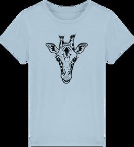 92c4850847117 T-shirt enfants garçon girafe éthique coton bio 17.9€