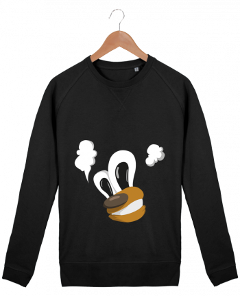 Sweat Col Rond Homme Stanley Strolls Crazy Cartoon par Mo'Art