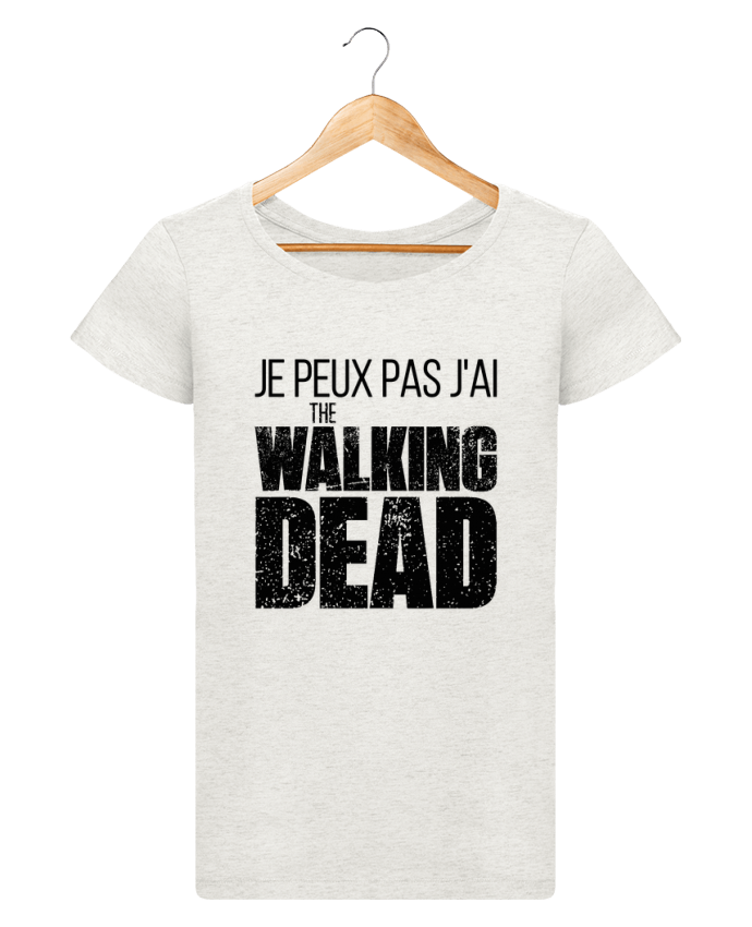 tee shirt femme walking dead