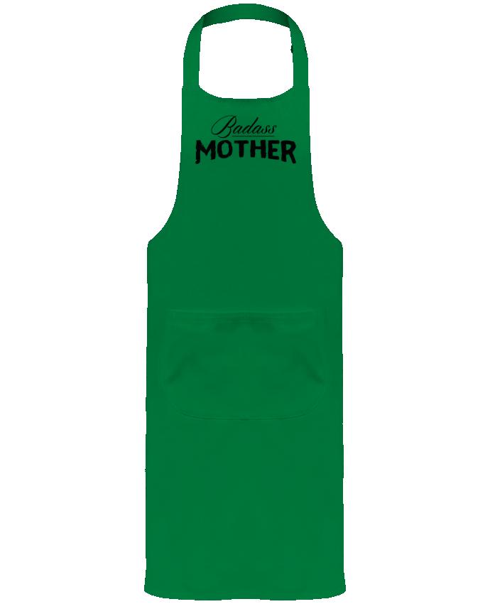 Tablier de Jardinier ou Sommelier avec Poche Badass Mother par tunetoo