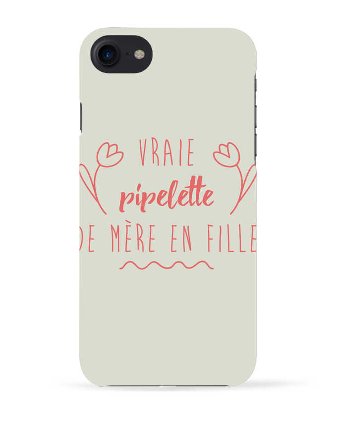 Coque 3D Iphone 7 Vraie pipelette de mère en fille de tunetoo