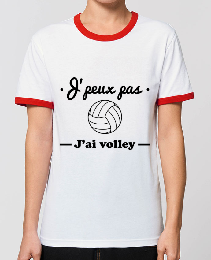 T-shirt J'peux pas j'ai volley , volleyball, volley-ball parBenichan