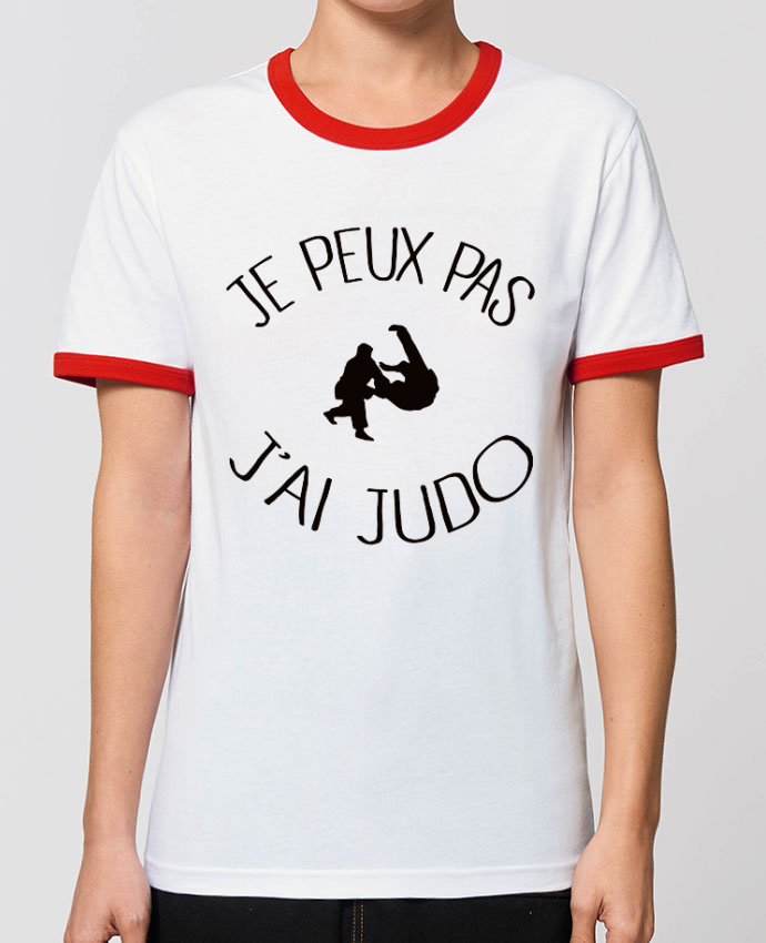 T-shirt Je peux pas j'ai Judo parFreeyourshirt.com