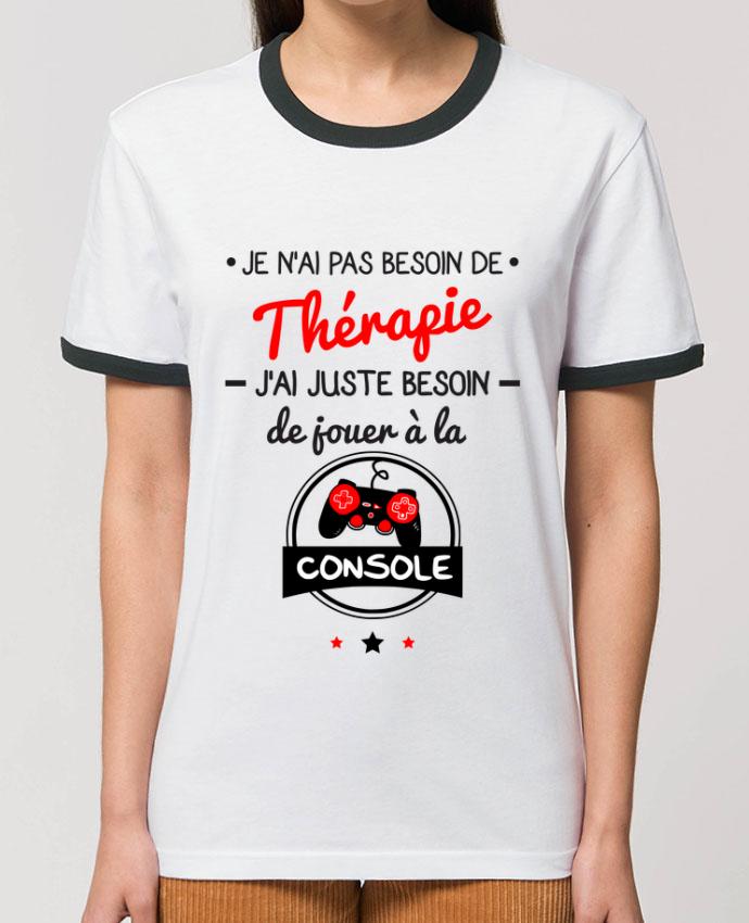 T-shirt Tee shirt marrant pour geek,gamer : Je n'ai pas besoin de thérapie, j'ai juste besoin de j