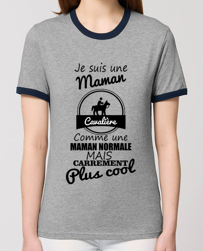 T-shirt Je suis une maman cavalière comme une maman normale mais carrément plus cool parBenichan