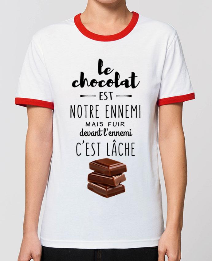 T-shirt chocolat parDesignMe