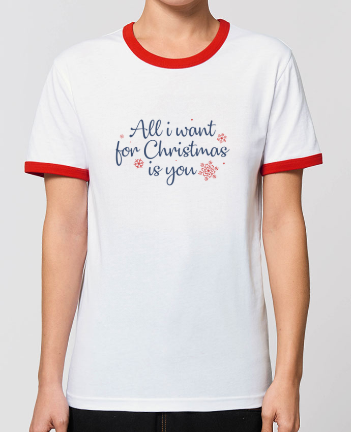 T-shirt All i want for christmas is you par Nana