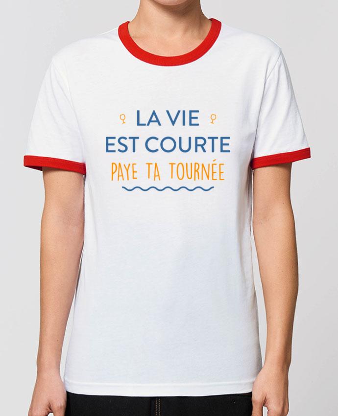 T-shirt La vie est courte paye ta tournée partunetoo