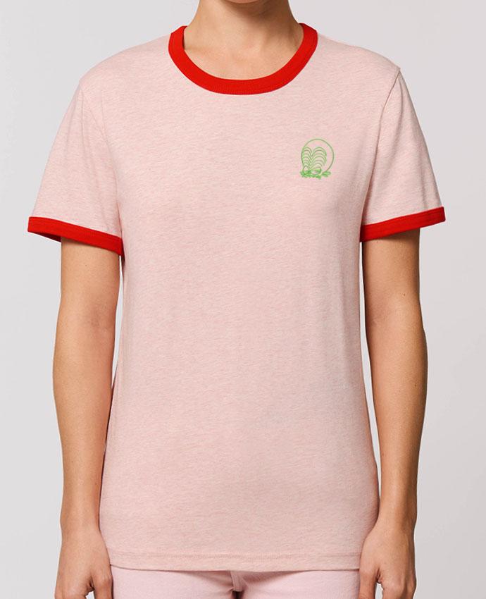 T-shirt brodé Zinzin de l'espace brodé Par  tunetoo