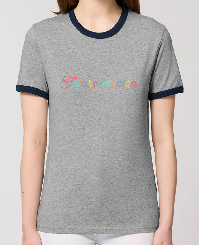 T-shirt brodé Future maman Par  tunetoo