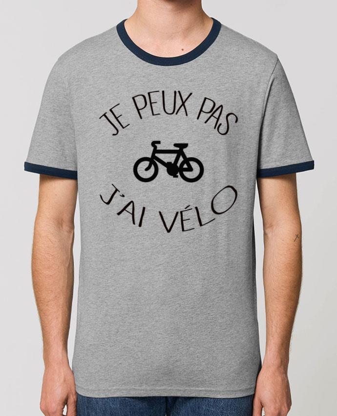 T-shirt Je peux pas j'ai vélo parFreeyourshirt.com