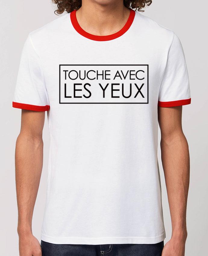 T-shirt Touche avec les yeux parFreeyourshirt.com