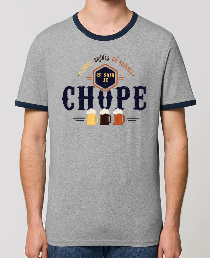 T-shirt CE SOIR JE CHOPE parPTIT MYTHO